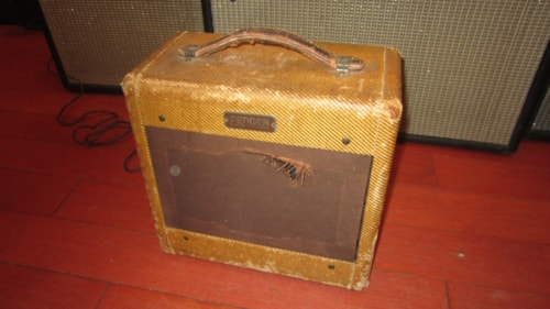 1954 Fender Champ Amp Tweed