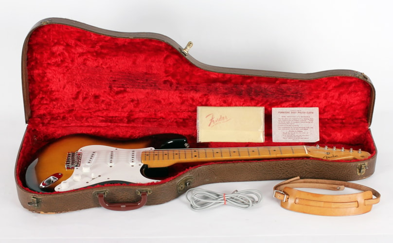 1954 Fender® Stratocaster® - Near Mint Quarter Sawn Ash, Near Mint, Original Hard