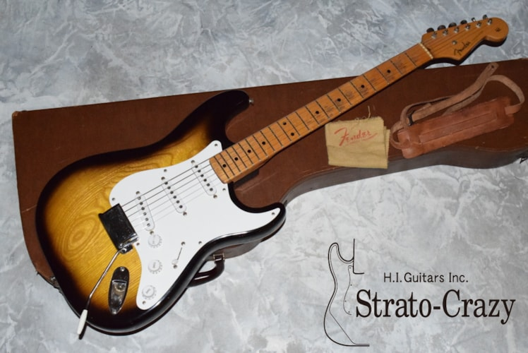 1954 Fender® Stratocaster® Sunburst, Mint, Original Hard, Call For Price!