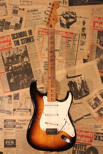 1954 Fender® Stratocaster® Sunburst, Excellent, Original Hard, Call For Price!