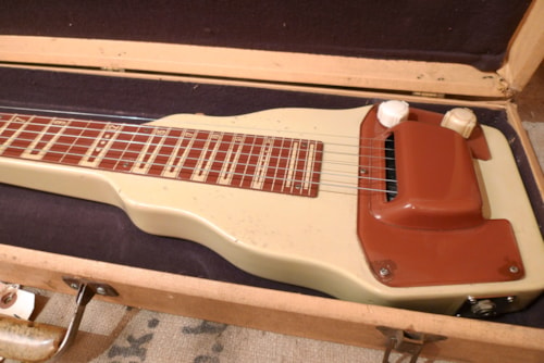 ~1954 Gibson BR-9 Lap Steel White