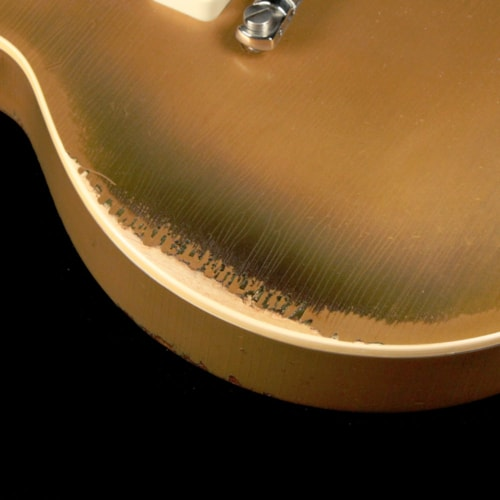 1954 Gibson Custom Shop 1954 Les Paul Murphy Ultra Aged All Gold 2012 Excellent, $6,499.00