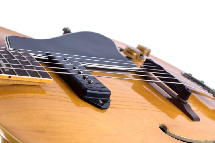 1954 Gibson ES-175 Natural, Excellent, Hard, $5,295.00