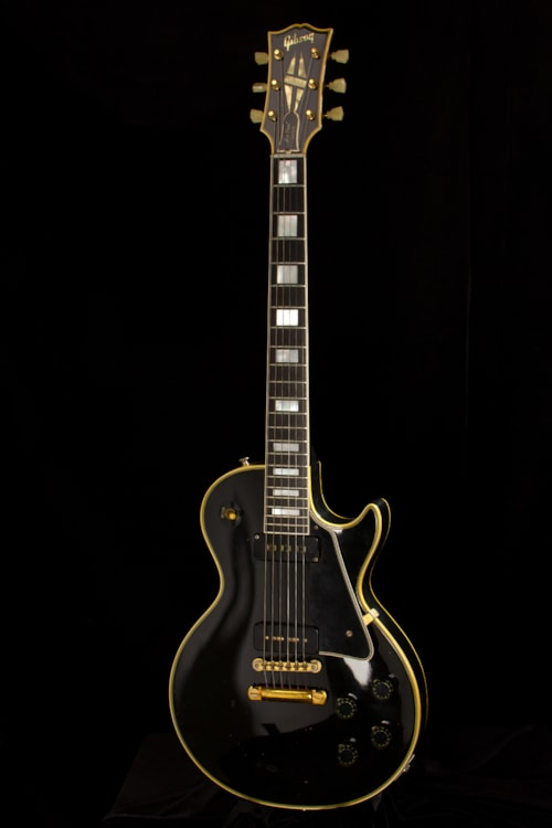 Who Accepts Amex >> 1954 Gibson Les Paul Custom Black Beauty > Guitars Electric Solid Body | Rudys Music