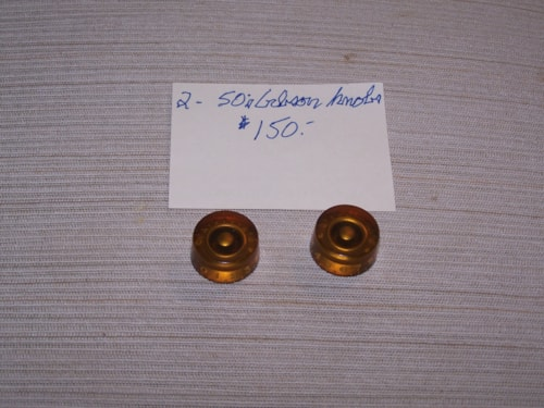 ~1954 Gibson Speed knobs Amber