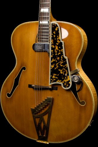 Dhl Customer Service Phone Number >> 1955 D'Angelico New Yorker Blonde > Guitars Archtop ...