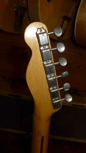 1955 Fender Esquire Blonde, Excellent, Original Hard, $21,000.00