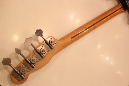 1955 Fender® Precision Bass® Two Tone Sunburst, Excellent, Original Hard, Call For Price!