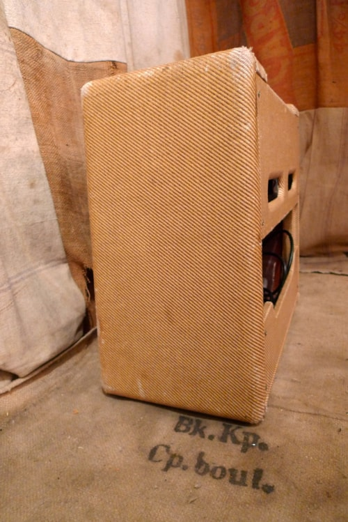 1955 Fender Princeton 5F2 Tweed Amps Preamps