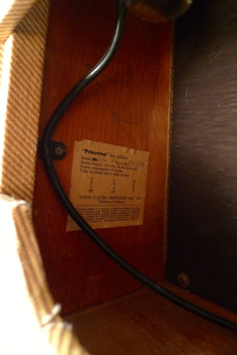 1955 Fender® Princeton® 5F2 Tweed, Very Good, $1,950.00