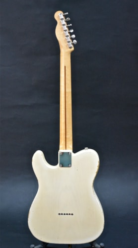 1955 FENDER Telecaster Creme/Blonde, Excellent, Original Hard, $26,500.00