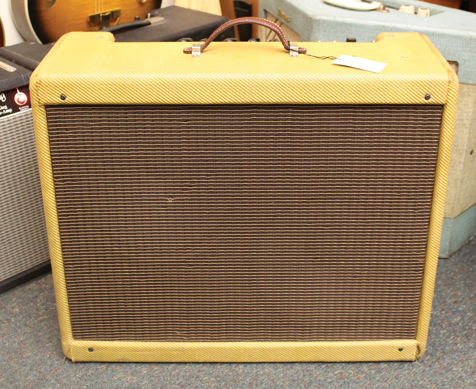 Fender Tweed Amp >> 1955 Fender Twin Amp Tweed