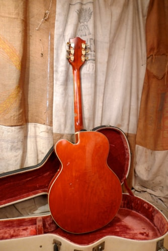 "1955 Gretsch Chet Atkins 6120 ""First Batch"" Western Orange, Very Good, Original Hard"