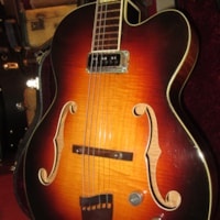 1955 Gretsch Model 6190 Electromatic Archtop Electric