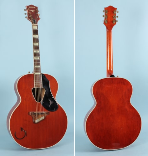 1955 Gretsch Rancher Western Orange, Very Good, Hard, $6,550.00