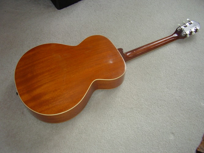 1955 Kay all mahogany archtop natural, Excellent