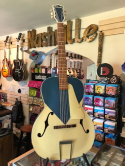 "~1955 Silvertone Model 653 ""Kentucky Blue"""