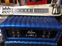 1955 White (Fender) Lap Steel
