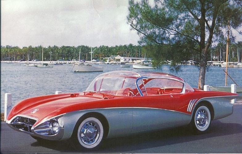1956 Buick Centurion Red/Silver, Call For Price!