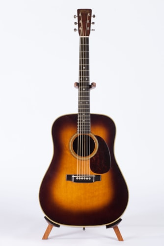 1956 C. F. Martin D-28 Sunburst, Excellent, Hard