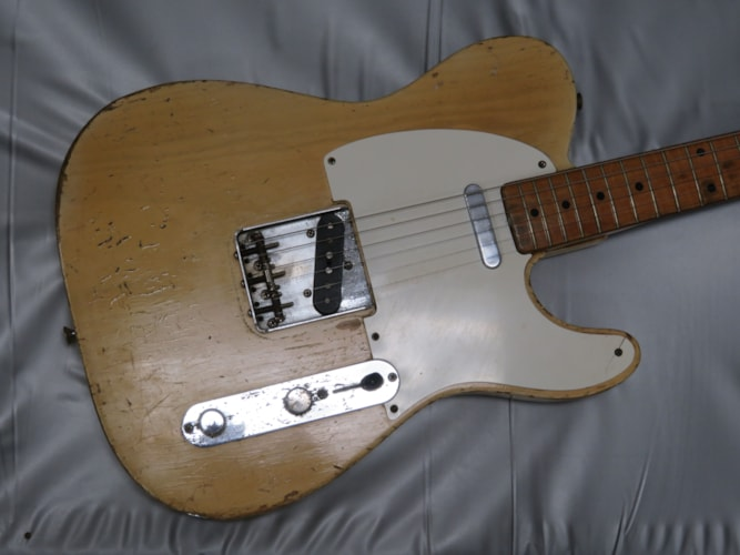 1956 Fender Telecaster blond, Very Good, Original Hard, Call For Price!