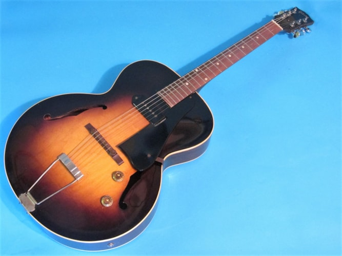 1956 Gibson ES-125 Tobacco Sunburst, Very Good, Soft, $1,295.00