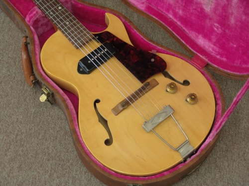 1956 Gibson ES-140TN n/MINT with TAGS insane Natural Blonde, Near Mint