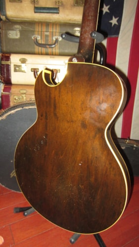 1956 Gibson ES-225 Hollowbody Electric Sunburst, Excellent, Hard, $2,495.00
