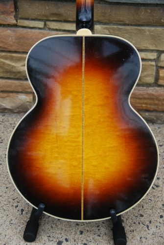 1956 Gibson J-200 Sunburst, Very Good, Hard