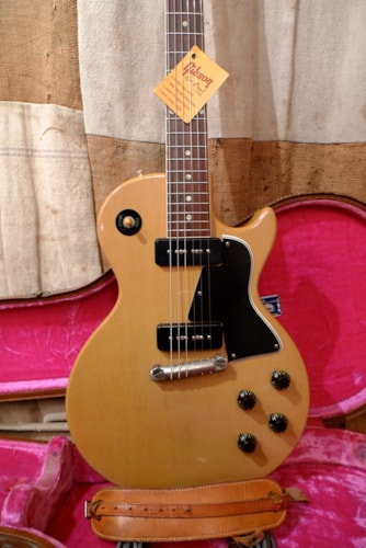 1956 Gibson LES PAUL SPECIAL TV Yellow, Excellent, Original Hard, $14,500.00
