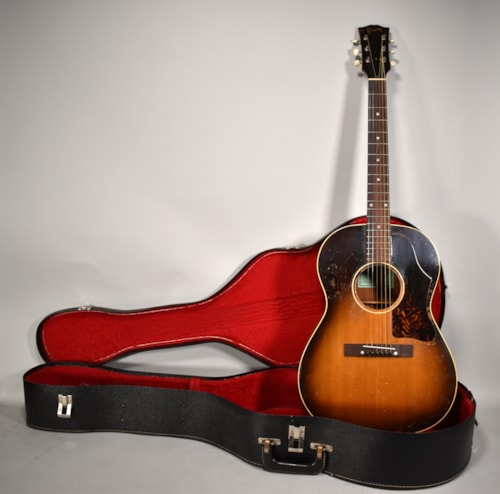 1956 Gibson LG-2 Conversion Left Handed Sunburst Finish Vintage Acoustic Guitar