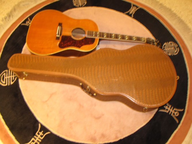 1956 Gibson Southern Jumbo (SJN Country + Western) Natural, Very Good, Original Soft