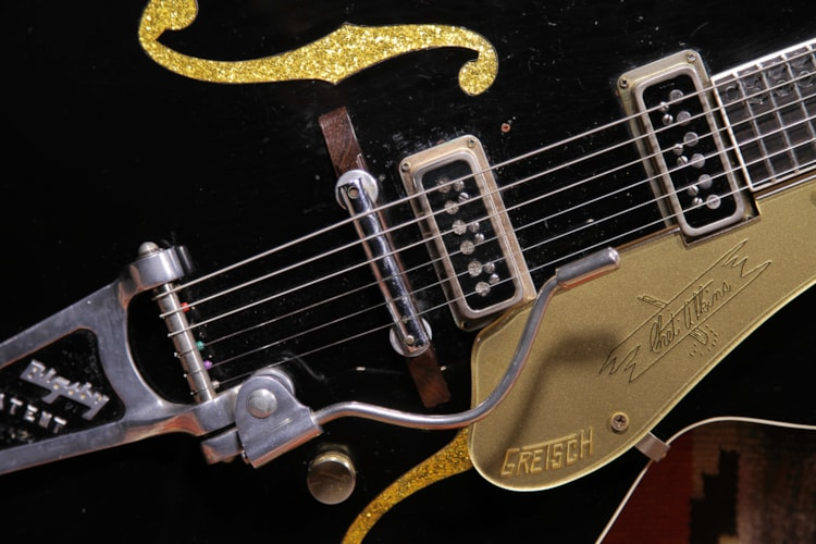 "1956 Gretsch 6120 Chet Atkins Prototype ""Dark Eyes"""