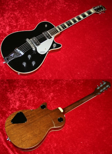 1956 Gretsch Duo Jet (#GRE0373) Black, Excellent, Original Hard