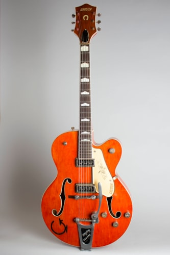 1956 Gretsch Model 6120 Chet Atkins Hollow Body Western Orange Lacquer Excellent Soft 1250000