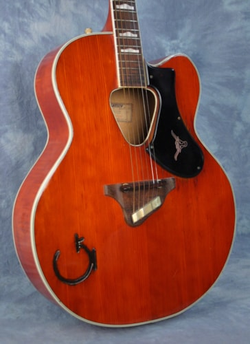 1956 Gretsch Rancher Cutaway - RARE Western Orange, Excellent, Original Hard