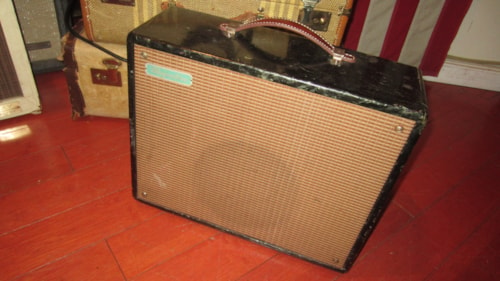1956 Magnatone Varsity Combo Amp Mother or Pearl