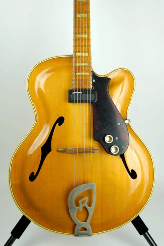 1956 Roger Jazz Guitar Electric Guitar #100571 (Pre-Owned) (Glen Quan Private Collection)