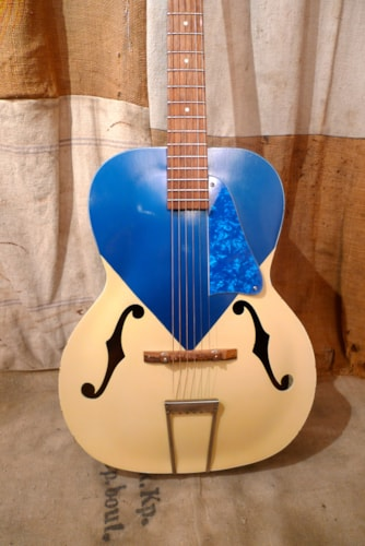 1956 Silvertone 653L Kentucky Blue Good, Soft, $625.00
