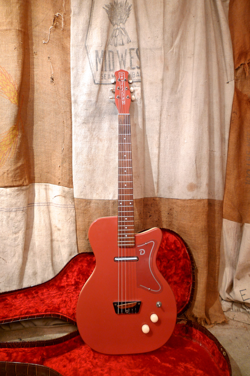 danelectro u1 wiring 1957 danelectro u 1 coral red guitars electric solid body  1957 danelectro u 1 coral red guitars