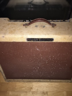 1957 Fender 57 low power tweed twin