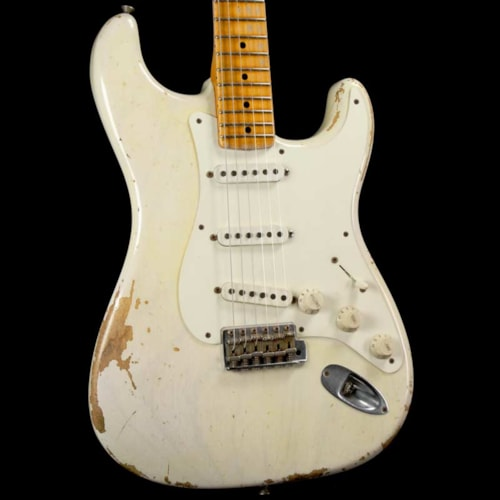 1957 Fender Custom Shop 1957 Stratocaster White Blonde Heavy Relic 2009