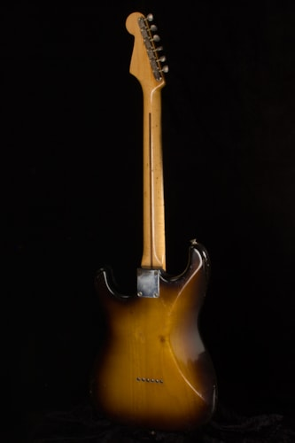 1957 Fender® Stratocaster® 2-Tone Sunburst, Excellent, Original Hard, $24,950.00