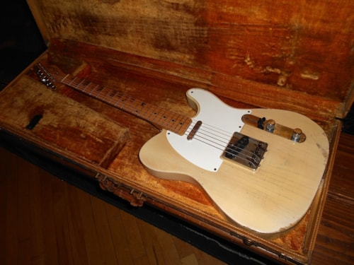 1957 Fender Telecaster Blond, Very Good, Original Hard