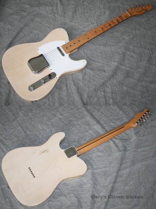 1957 fender telecaster fee0712 blonde guitars electric solid body gary 39 s classic guitars. Black Bedroom Furniture Sets. Home Design Ideas