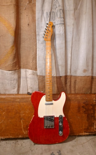 1957 Fender Telecaster Red - Refin