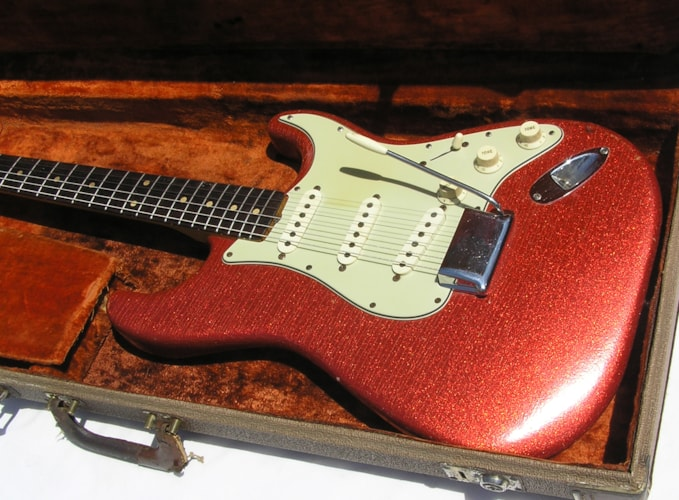 1957 Fender® Wanted Stratocaster® RARE COLORS, Near Mint, Original Hard, Call For Price!
