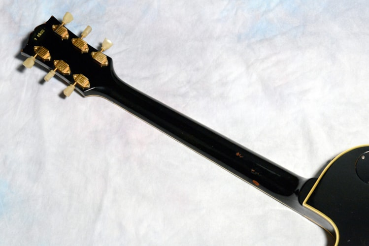 1957 Gibson 3-PAF Les Paul Custom Black, Very Good, Original Hard, $55,000.00