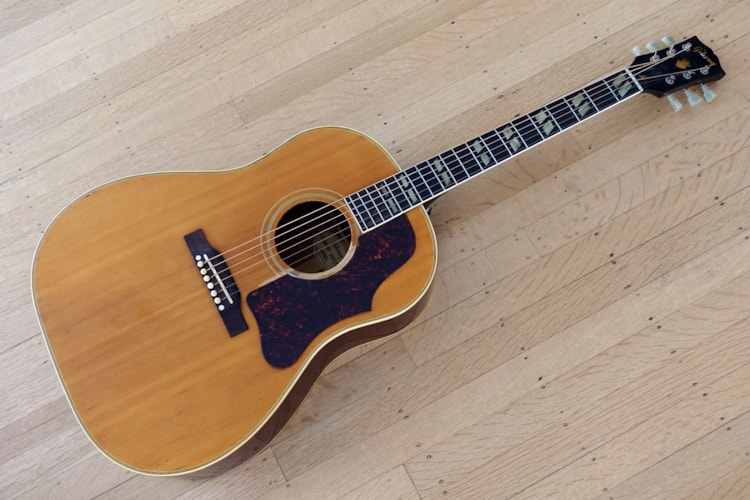 1957 Gibson Country Western Model SJN Southern Jumbo Natural, Excellent, Hard