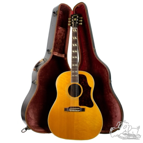 1957 Gibson Country Western Natural, Very Good, Original Hard